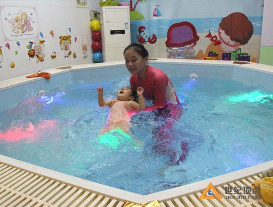 婴儿洗澡馆加盟图片
